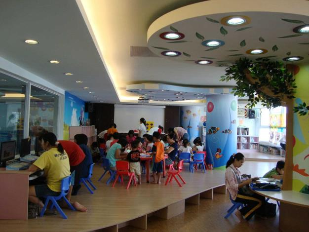 秀水鄉立圖書館兒童閱覽室