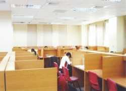 彰化市立圖書館自習室