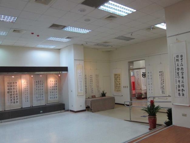 彰化市立圖書館展覽室