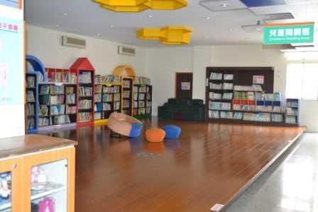 芬園鄉立圖書館兒童閱讀區