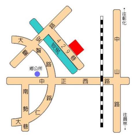 大村鄉立圖書館地理位置