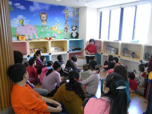員林市立圖書館假日說故事活動