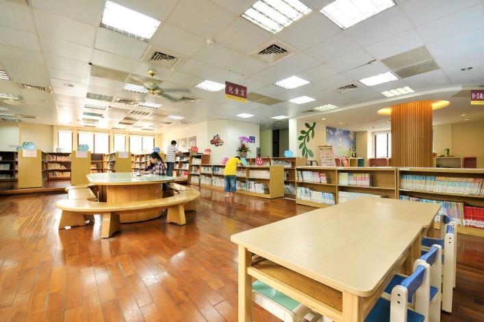 員林市立圖書館兒童區