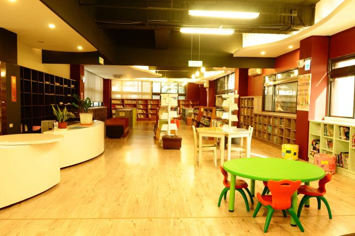 溪湖鎮立圖書館兒童閱讀區