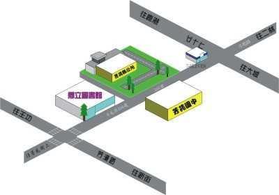 芳苑鄉立圖書館地理位置