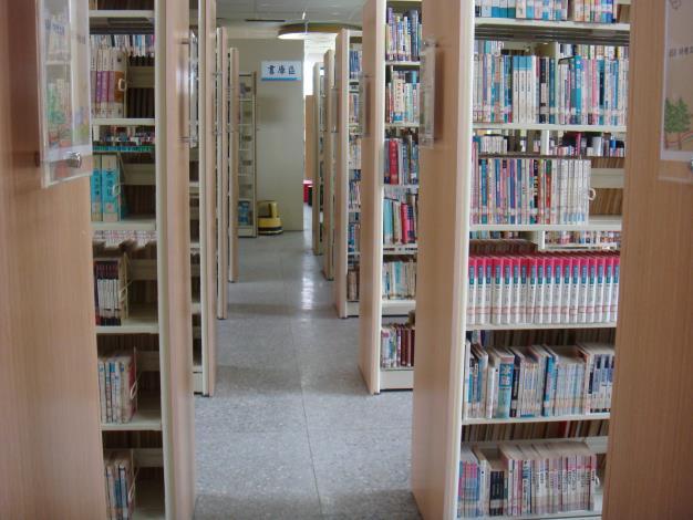 大城鄉立圖書館書庫