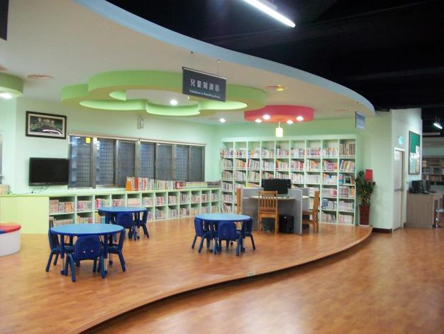 竹塘鄉立圖書館兒童閱讀區