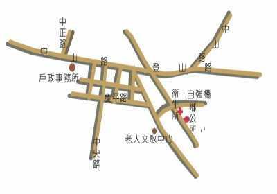 溪州鄉立圖書館地理位置