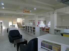 溪州鄉立圖書館視聽區