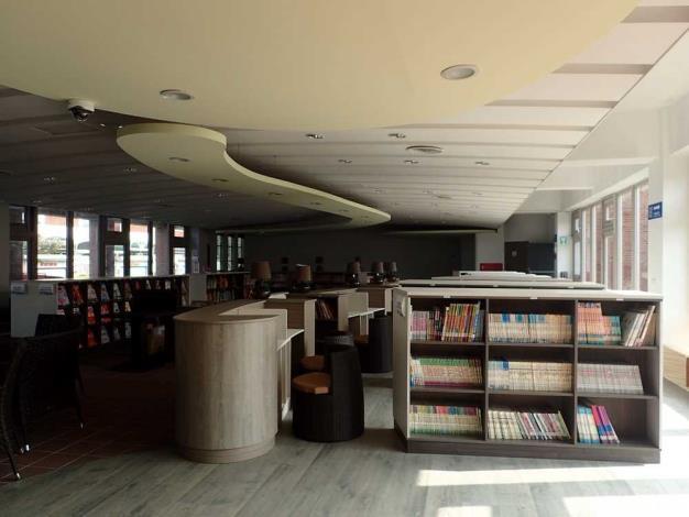 二水鄉立圖書館兒童閱讀區