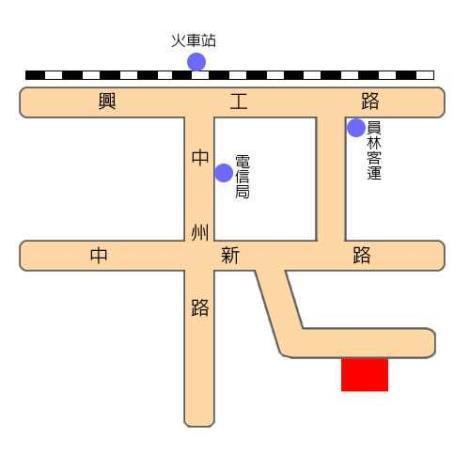 田中鎮立圖書館地理位置