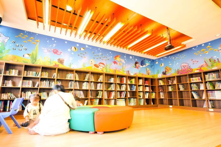 社頭鄉立圖書館兒童及嬰幼兒專區