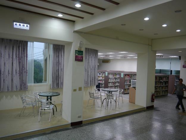 社頭鄉立圖書館青少年專區